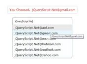 jQuery Plugin For Email Address Auto Complete - mailtip