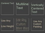 jQuery Plugin For Fitting Text To Its Container - textFit
