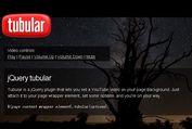 jQuery Plugin For Fullscreen YouTube Video Backgrounds - tubular