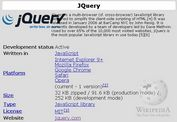 jQuery Plugin For Loading Data From Wikipedia - Wikipedia
