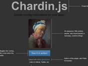 jQuery Plugin For Overlay Instructions For Apps - chardin.js