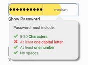jQuery Plugin For Password Strength Checker and Indicator - Password-Strength