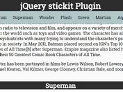 jQuery Plugin For Responsive Stick Elements - stickit