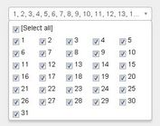 jQuery Plugin For Selecting Multiple Elements - Multiple Select