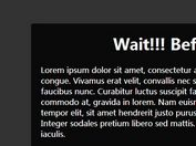 jQuery Plugin For Smart Exit Pop Behaviour - Exit Popup