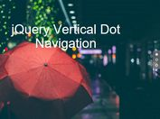 jQuery Plugin For Smooth Vertical Scrolling Navigation