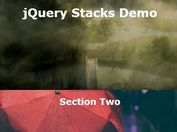 jQuery Plugin For Stacked Page Scrolling Effect - jQuery Stacks