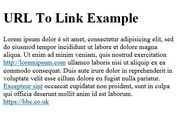 jQuery Plugin For Transforming URL To Link - urlToLink