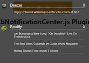 jQuery Plugin For iOS Style Notification Center - obNotificationCenter.js