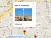 jQuery Plugin To Add Markers & Info Windows On Google Maps - AxGmap