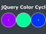 jQuery Plugin To Animate Background Colors - Color Cycle