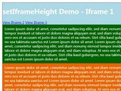 jQuery Plugin To Auto Adjust iFrame Height - setIframeHeight