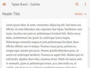 jQuery Plugin To Auto Show Site Navigation On Scroll Up - topbar
