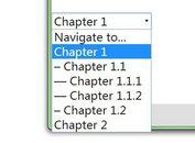 jQuery Plugin To Convert Html Lists Into A Dropdown List - NavToSelect