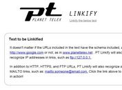 jQuery Plugin To Convert URLs & Emails Into Html Links - Linkify