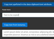 jQuery Plugin To Copy Any Text Into Your Clipboard - Copy to Clipboard