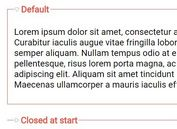 jQuery Plugin To Create Accordion-Style Animated Fieldset - Coolfieldset
