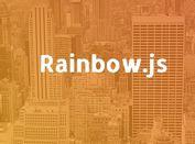 jQuery Plugin To Create Gradient Html Elements - rainbow.js