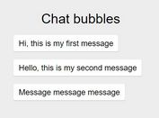 jQuery Plugin To Create Pretty Chat Bubbles - chatbubble.js