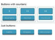 jQuery Plugin To Customize Social Share Buttons and Counters - SocialShare