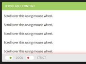 jQuery Plugin To Disable Page Scrolling For Scollable Element - scrollLock