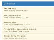 How to add calendar in html form using jquery