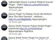 jQuery Plugin To Display Your Tweets On The Web Page - TweeCool