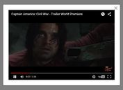 jQuery Plugin To Embed Youtube Video In Modal Popup - ShowYtVideo