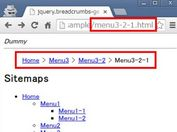 jQuery Plugin To Generate Breadcrumbs From A Sitemap