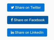 jQuery Plugin To Generate Custom Social Share Links