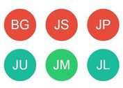 jQuery Plugin To Generate Text Avatars - Name Badges