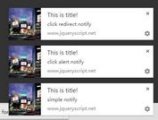 jQuery Plugin To Handle & Manage HTML5 Desktop Notifications - Push Notification