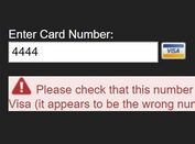 jQuery Plugin To Identify and Validate Credit Cards - Cardcheck.js