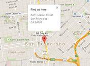 jQuery Plugin To Parse Address Text & Coordinates Into Google Maps - findus