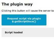 jQuery Plugin To Prevents A Script From Being Loaded More Than Once