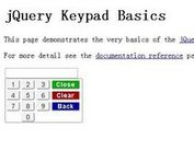 jQuery Plugin for Simple Virtual Keyboard - keypad