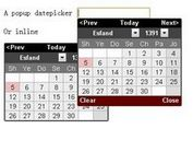 jQuery Plugin for World Calendars - calendars