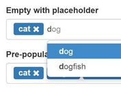jQuery Tags Input Plugin with Autocomplete Support - Mab Tag Input