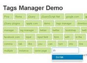 jQuery Tags Manager with Twitter Bootstrap - tagmanager