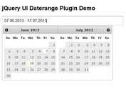 jQuery UI Date Range Picker Plugin - Daterange