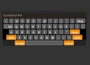 jQuery Virtual Keyboard Plugin - Keyboard