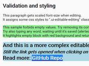 jQuery & jQuery UI Based Content-editable Widget - contenteditable.js