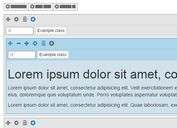jQuery & jQuery UI Plugin For Bootstrap 4 Grid Editor - Grid Editor