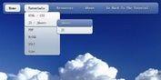 Smooth jQuery Dropdown Navigation Menu With CSS3