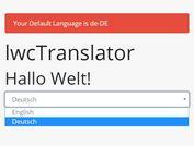 Translate Webpage Using JSON And Data Attributes - lwcTranslator