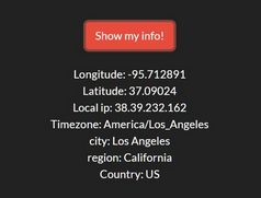 Get User's Current Location Info With jQuery - MapPin