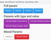 Manipulate Data In URL Parameters - jQuery gp-link