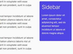 Minimal Sticky Sidebar Using jQuery