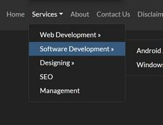 Mobile-friendly Multi-level Dropdown For Bootstrap
