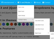 Mobile-friendly Multi-level Dropdown Navigation Plugin With jQuery